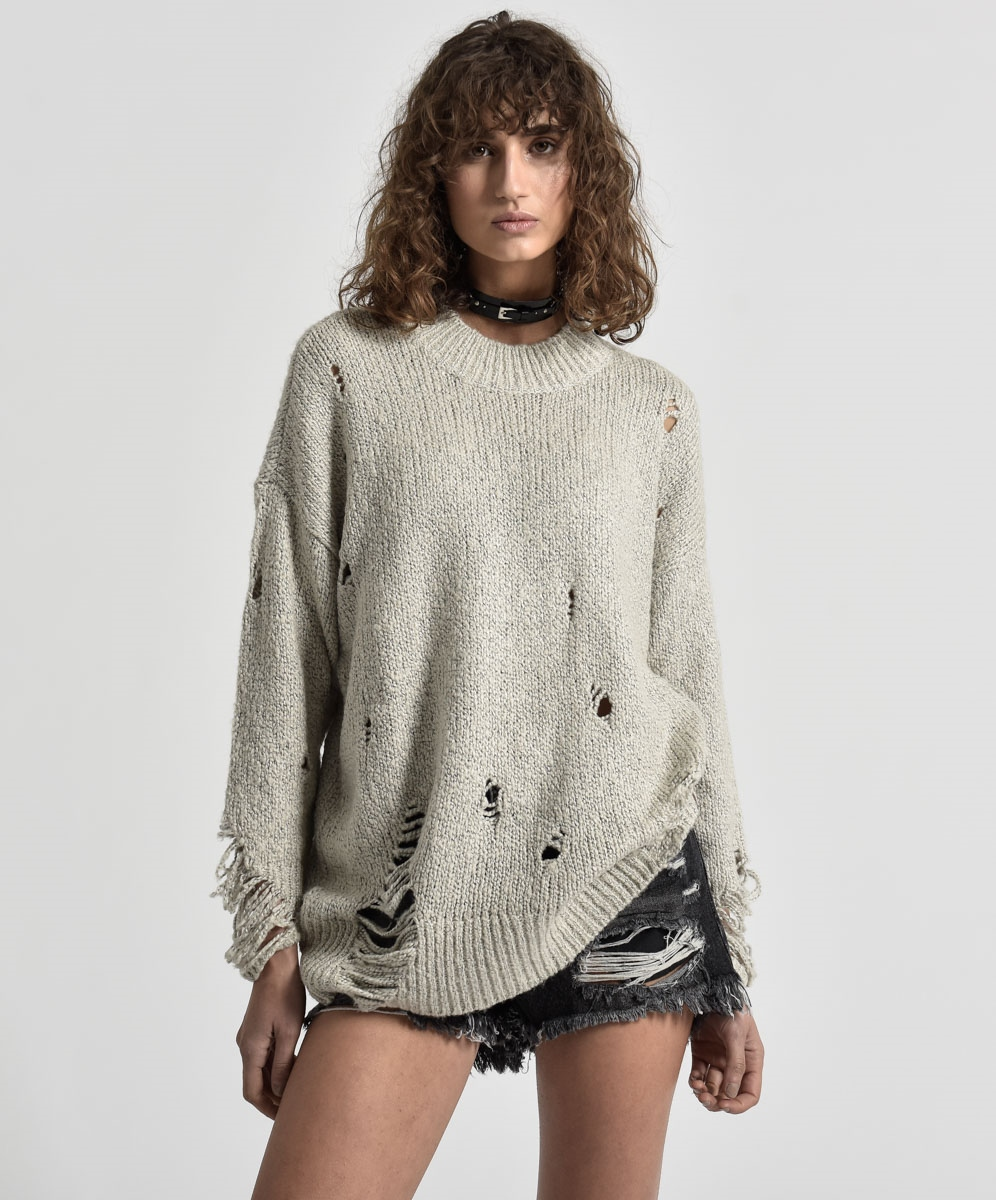 Jersey Laddered Whisky Knit