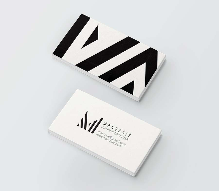 Marssaie studio graphic design business card marssaie 02g colourmoves