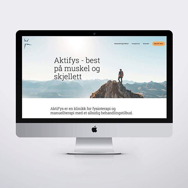 Happy Friday! We are proud to show you the website we have been working on for the past months, aktifys.no 👆🏼 Full work will be up on the website soon 🍃 ** #web #webdesign #design #graphicdesign #squarespace #digitaldesign #alfreddesign #olso #scandinaviandesign #vsco #vscocam #vscomood #vscogood #website #minimal #minimalism