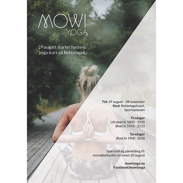 Alfred's favourite yogi 🙏🏼 Check out MOWI yoga's website, and sign up for a yoga class this fall 🍃 Photo: @fredrikkephoto • #alfreddesign #ourmoodydays #justgoshoot #yoga #ashtangayoga #green #healthylifestyle #vsco #vscocam #graphic #graphicdesign #flyer #photography #oslo