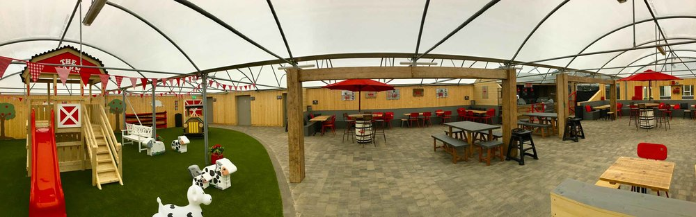 Our New BBQ Barn - At Creative Gardens Bushmills