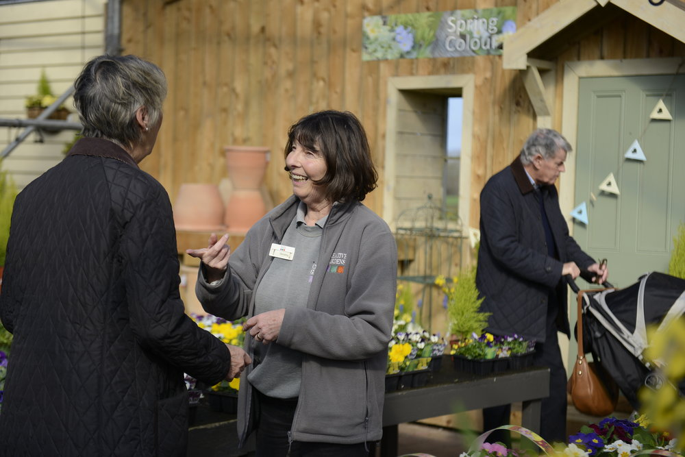 You're front and centre - Helping customers get the best from every visit to Creative Gardens