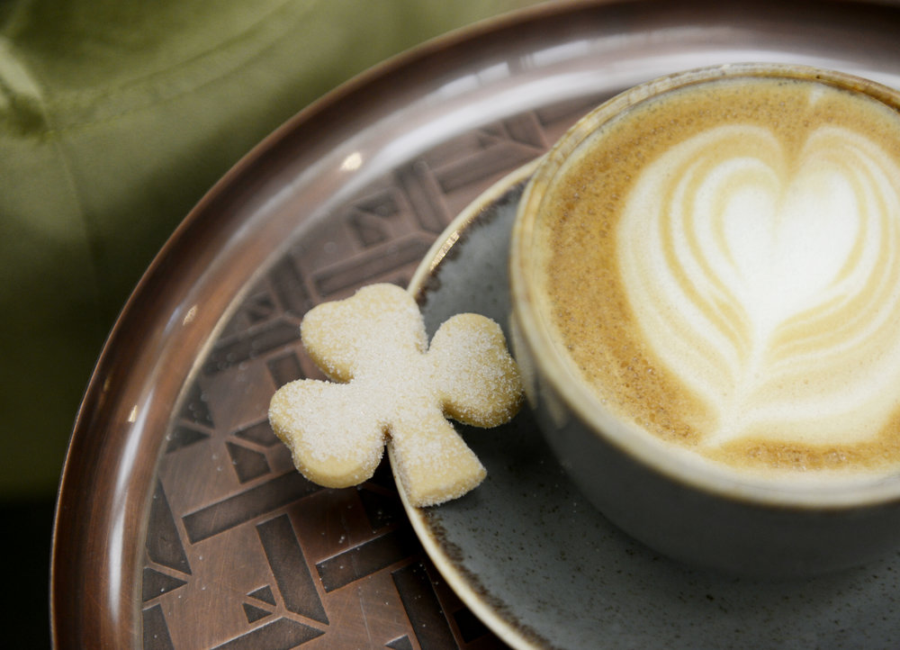 St Patricks Day! - This Sunday to celebrate St. Patricks day we are giving away a delicious shamrock shaped shortbread with every hot drink in our award-winning cafes! ☘️