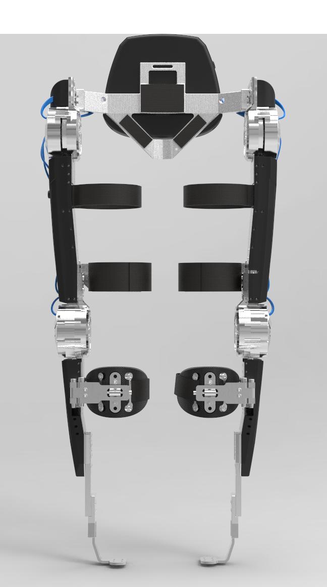 Het MARCH II exoskelet - MARCH II is een ondersteunend robotisch exoskelet ontworpen door Project MARCH. Het exoskelet moet een dwarslaesiepatiënt in staat stellen om weer zelfstandig te kunnen lopen. Slim gebruik van sensoren en complexe regelsystemen worden gebruikt om de volledige bewegingsvrijheid terug te geven aan de gebruiker. Custom ontworpen elektronica, een compact gewrichtsontwerp en een intuïtief aansturingssysteem vormen de basis van dit innovatieve exoskelet.