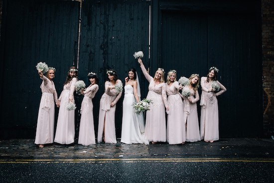 Shoreditch Studios wedding. Image: Eclection Photography