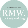 Joanna & Pete featured on Rock My Wedding