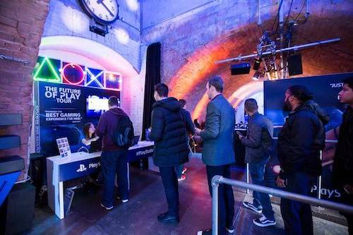 PlayStation gaming event at Kachette