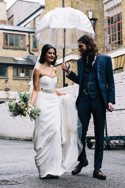 Shoreditch Studios winter wedding