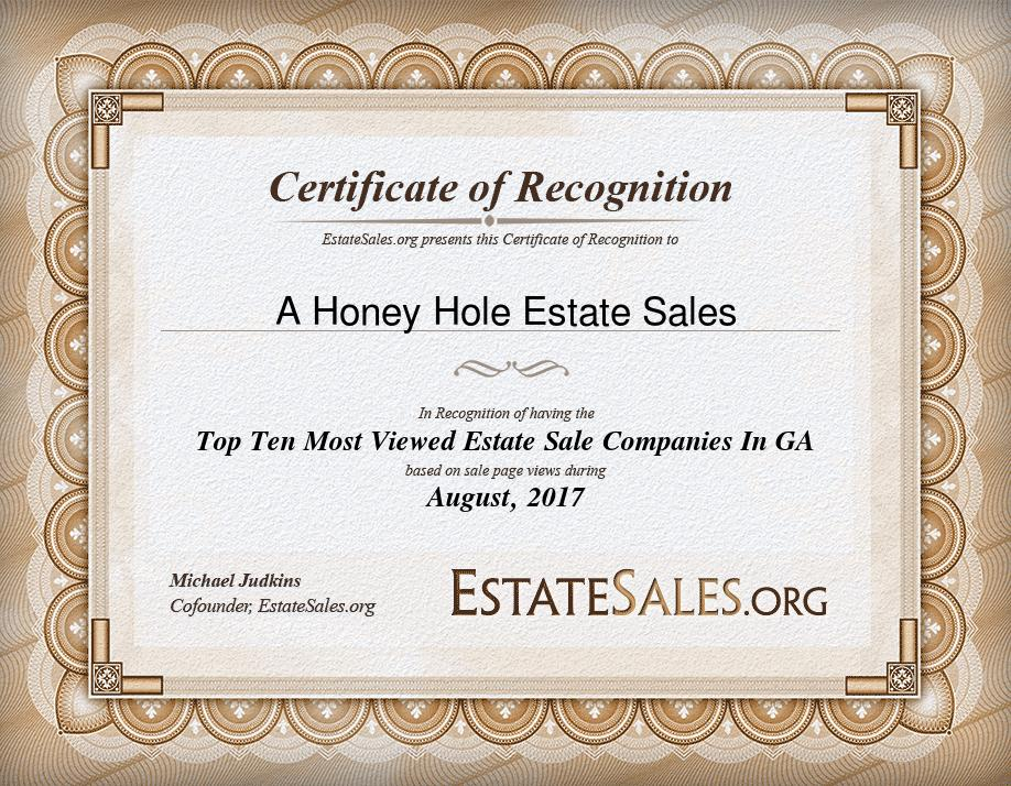Atlanta Estate Sale Companies | Estate Sales | Georgia Estate Sales | Honey Hole Estate Sales