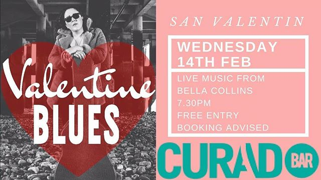 @curadobar Cardiff tonight. #sanvalentín #livemusic #blues #jazz #tapas #spanishwine  #spain #valentinesday