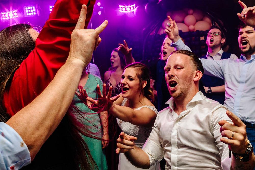 Party fotograaf Aalst huwelijk Part of the Vision