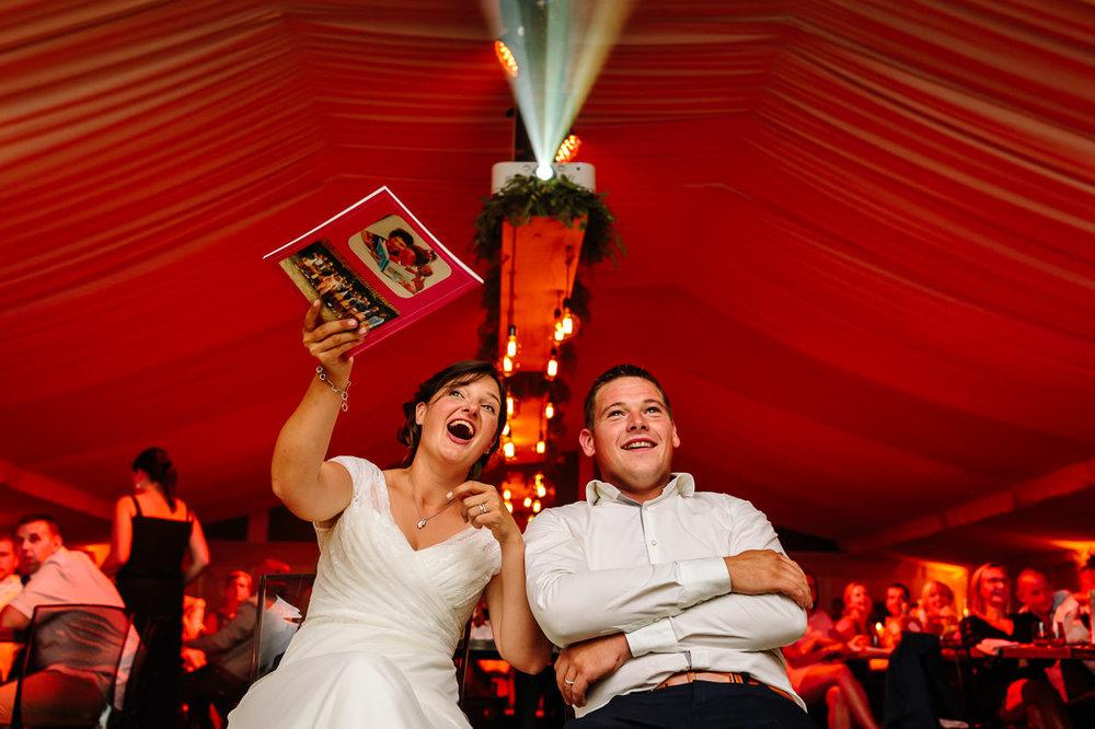 Humor fotograaf Oudenaarde huwelijk Part of the Vision