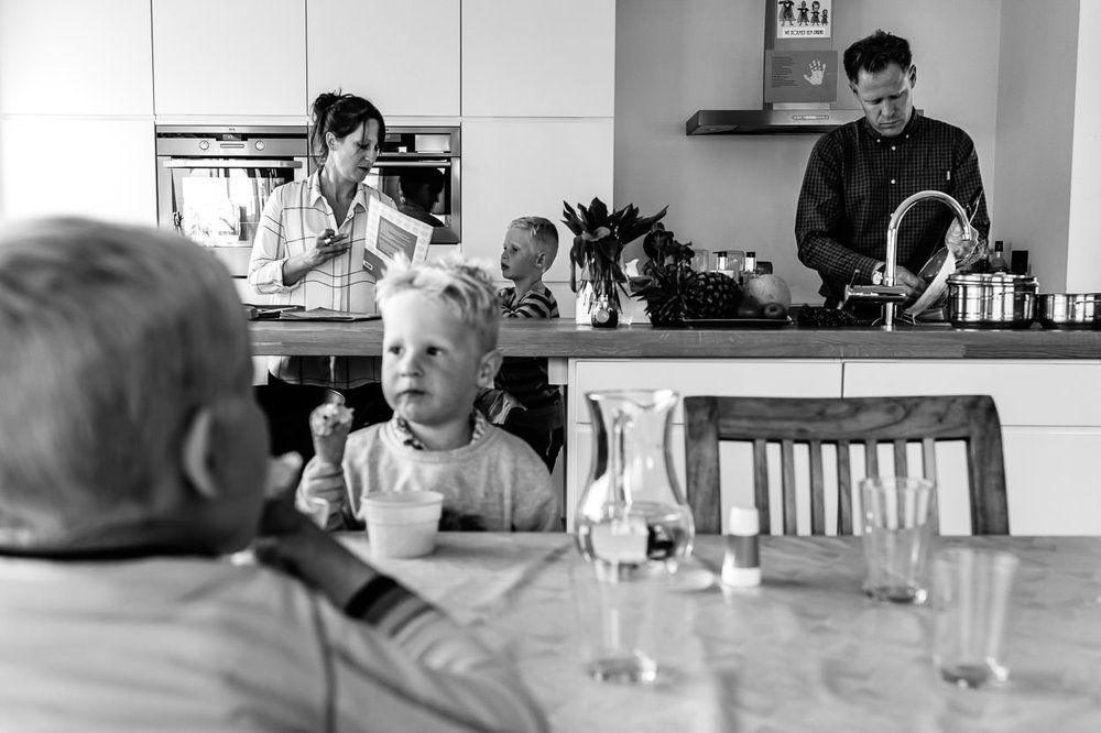 Documentair fotograaf Sint-Amands day in the life Part of the Vision