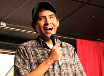 U.S. Army 82nd Airborne veteran-turned-comic, Raul Sanchez.