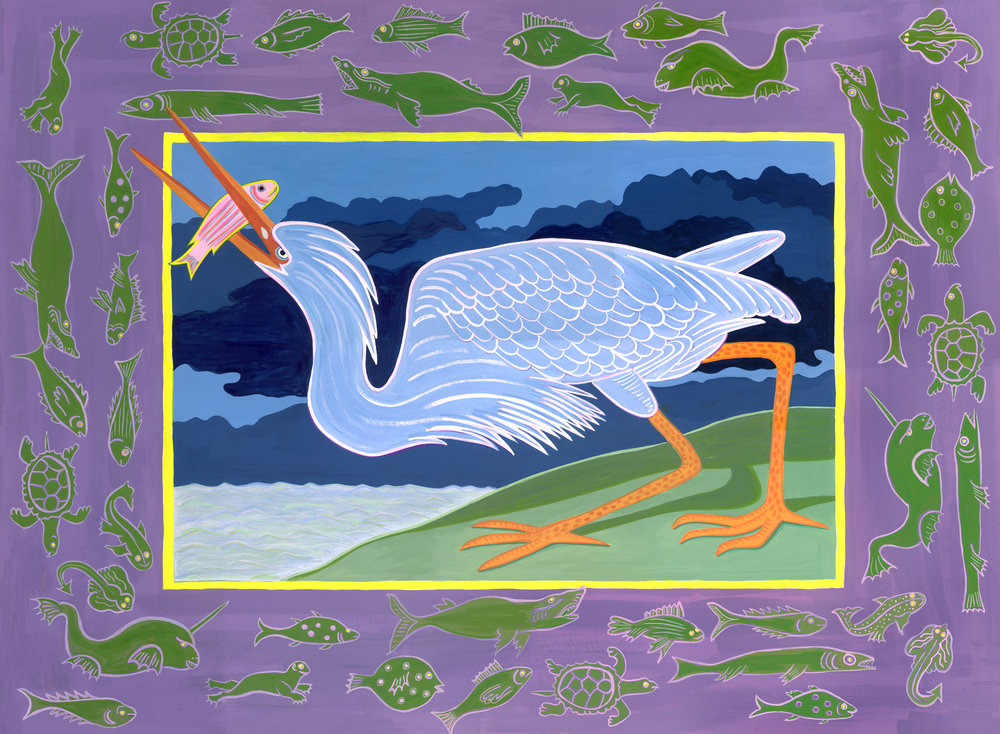 Audubon Series , Blue Heron