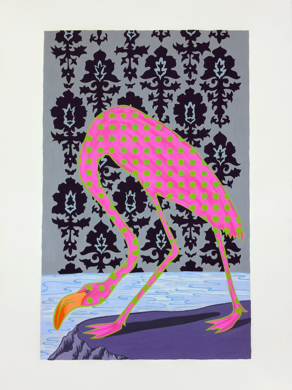 Audubon Series, Flamingo