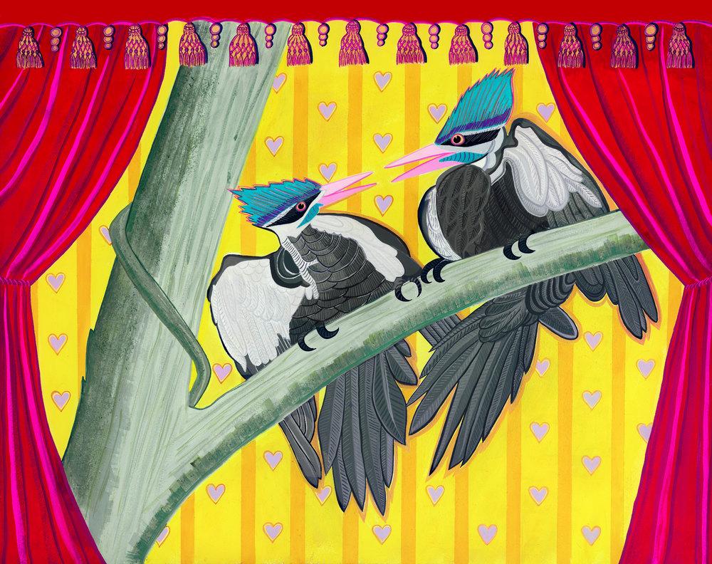 Beyond Audubon, Pileated Woodpeckers