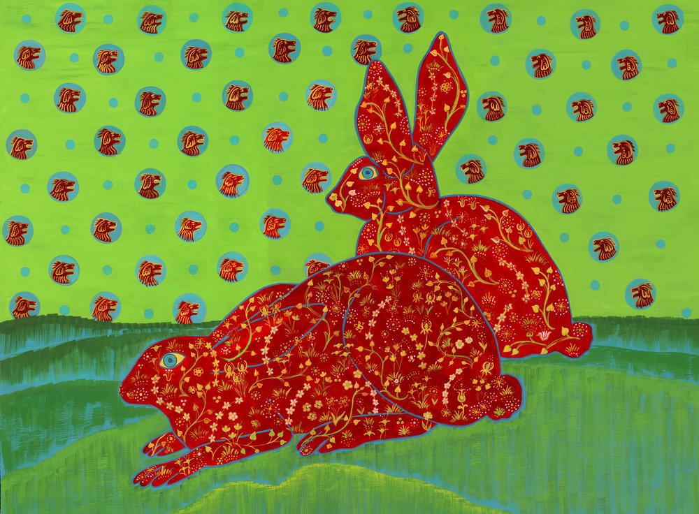 Beyond Audubon, Rabbits