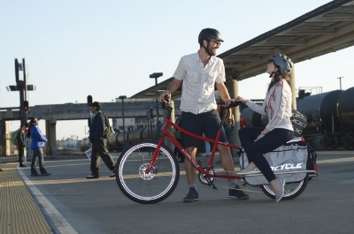 Xtracycle Edgerunner - carry your people
