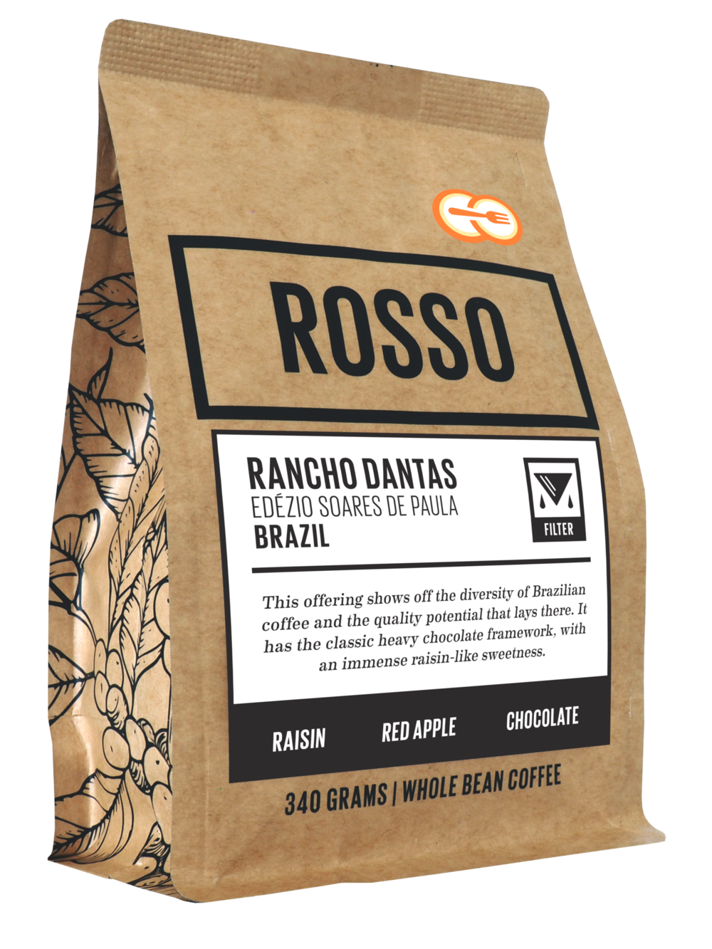 Rancho Dantas - Rancho Dantas has a classic heavy chocolate framework, with an immense raisin-like sweetness and some amazing red apple complexities. Plus it's fun as heck to say