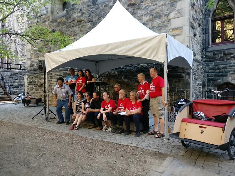 Board of Directors of Velo Canada Bikes