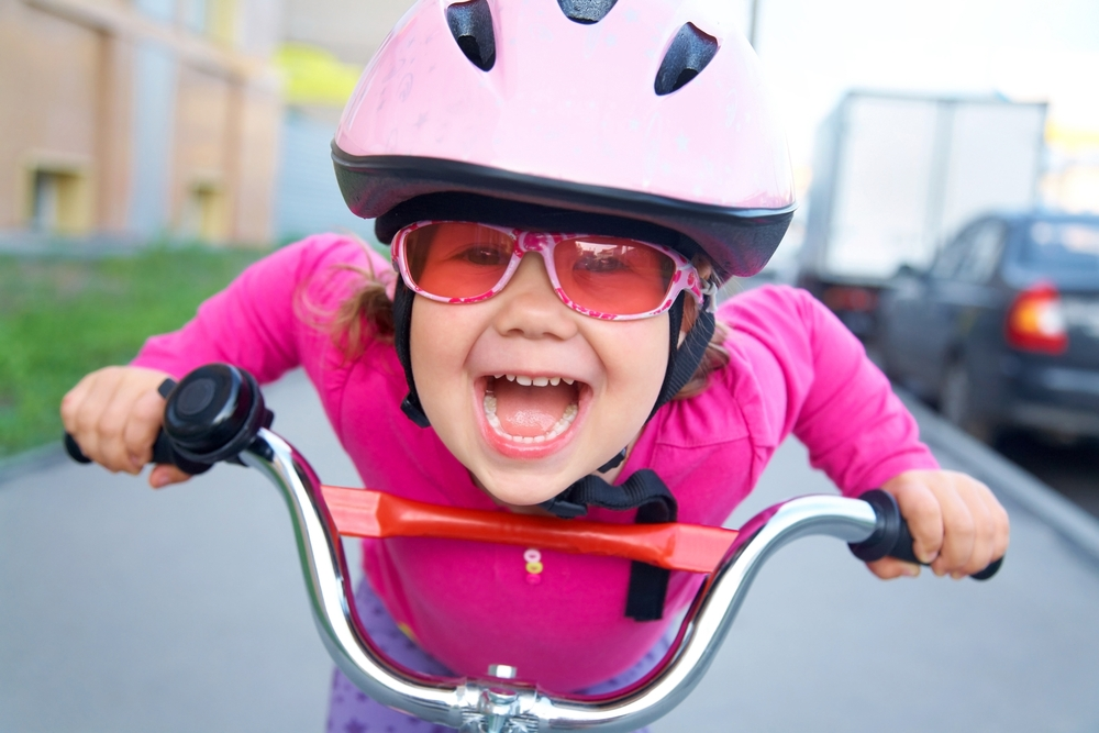 5 - Have you ever seen someone riding a bike who wasn't happy? Me neither. - And there's great research to back that up. Bike commuters are far happier than any other mode of transportation. If you want to be as happy as this kid, get yourself on a bike.