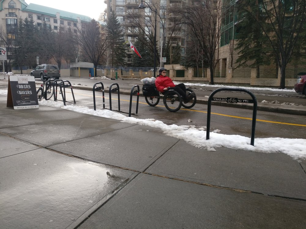 People of all ages and abilities can ride year-round in Calgary