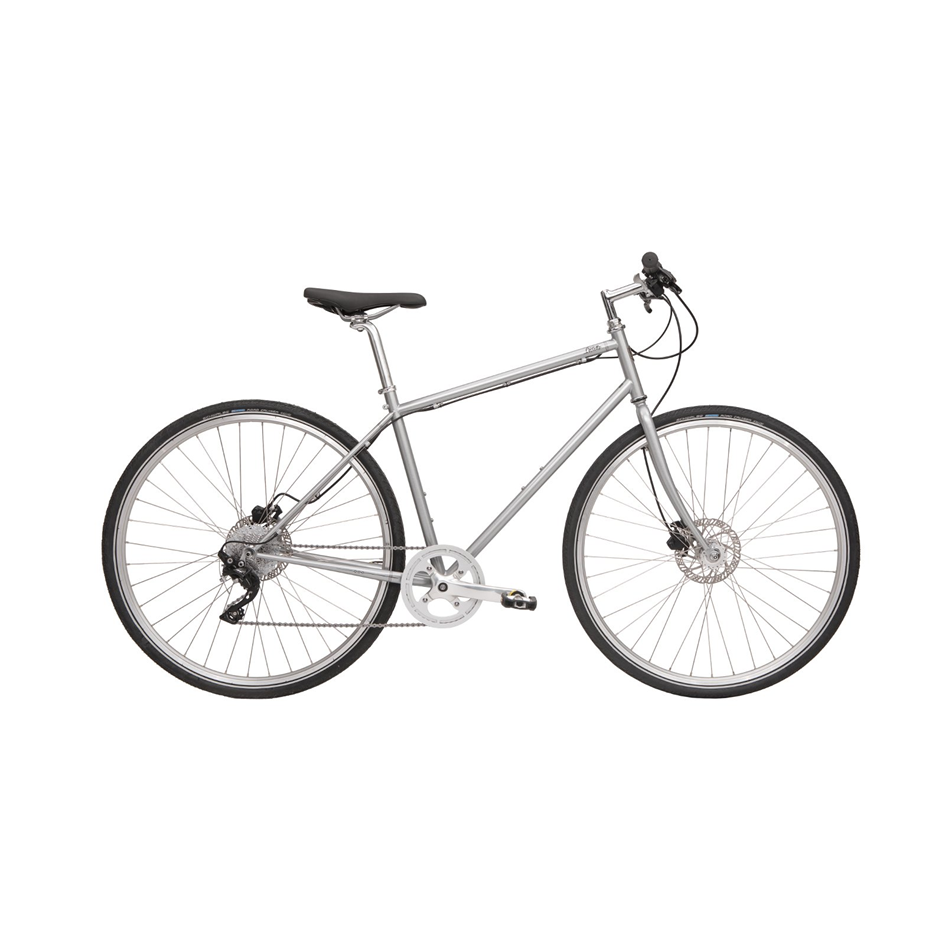 Detroit Bikes Cortello (Made in USA) - $785 (reg. $1099)   Designed for rugged city users, this versatile bike has roots in 70's vintage roadsters. Simply fast, durable, and urban, this bike will get you where you want to go in a hurry. Made in Detroit. On Clearance due to new business model for manufacturer.  Availability:  Blue | Medium x 2   Silver | Medium   SOLD OUT