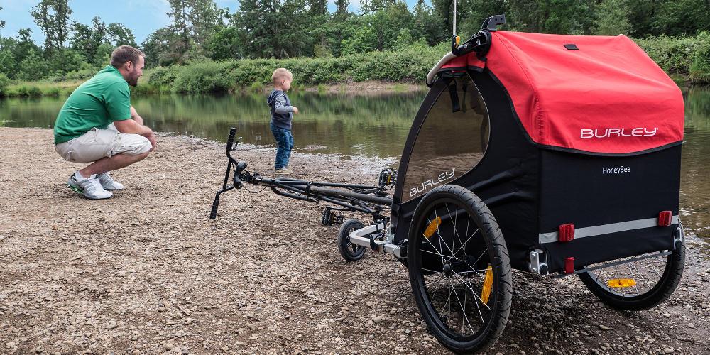 Burley-Honey-Bee-Action-Shot-Kids-Stroller-Bike-Trailer-BUR411.jpg