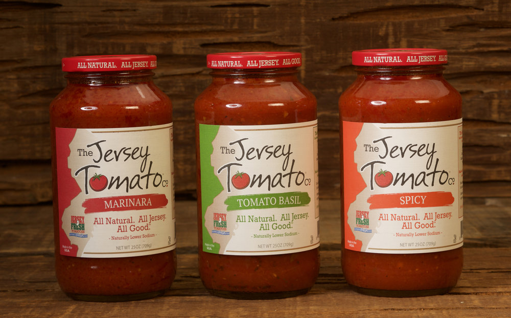 Find two - three flavors of The Jersey Tomato Co. sauces at your local Kroger, Fred Myer and Ralph's.