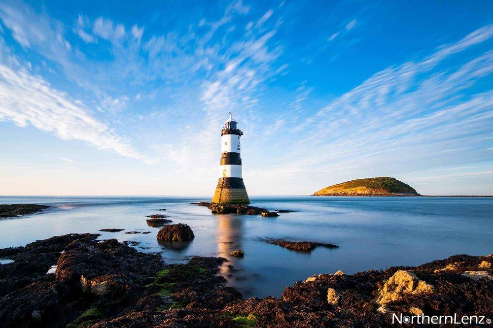Trwyn Du Lighthouse in all its glory  Image Ref: CC02