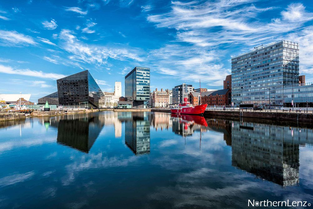 Reflections at Canning Dock, Liverpool  Image Ref: RP02