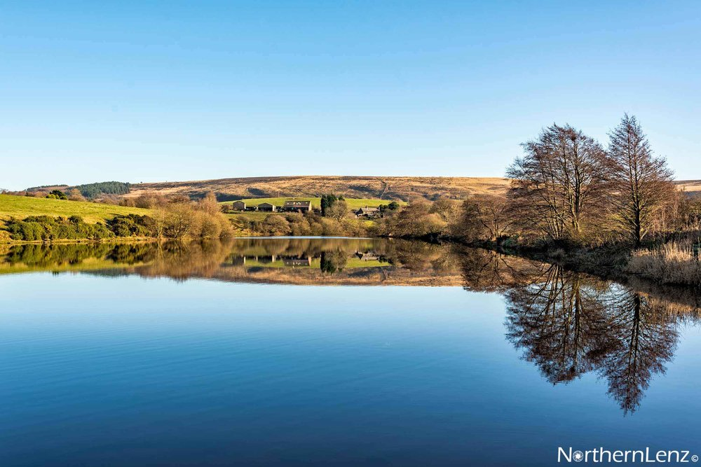 Still and calm at Heapey, Lancashire  Image Ref: RP07