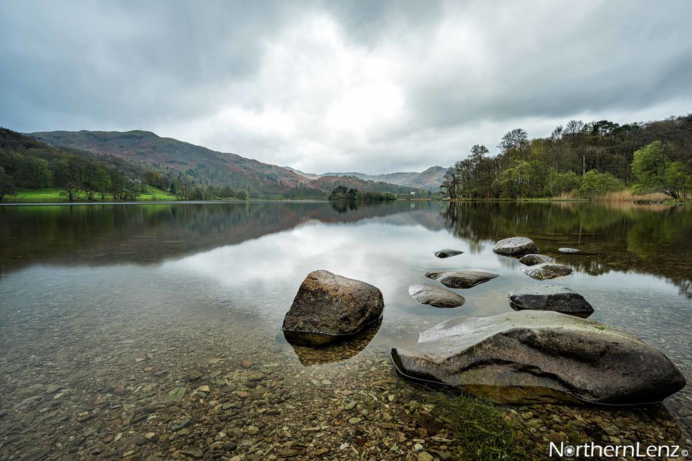 Just goes to show how beautiful the Lake District is, a dreary day at Grasmere and I come up with this gem  Image Ref: WW01