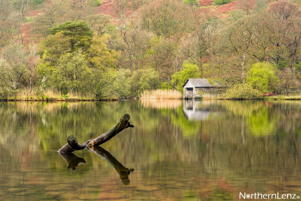 Reflections at Rydal Water, Cumbria  Image Ref: RP01
