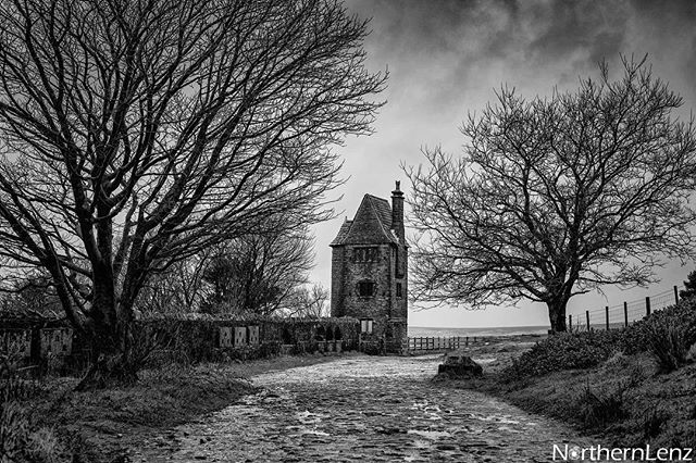 Timeless shot of the Pigeon Tower, Rivington