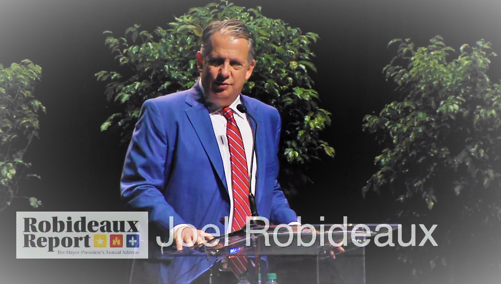 Couldn't make the Robideaux Report in person? Thanks to AOC Community Media, you can    watch the presentation online   .