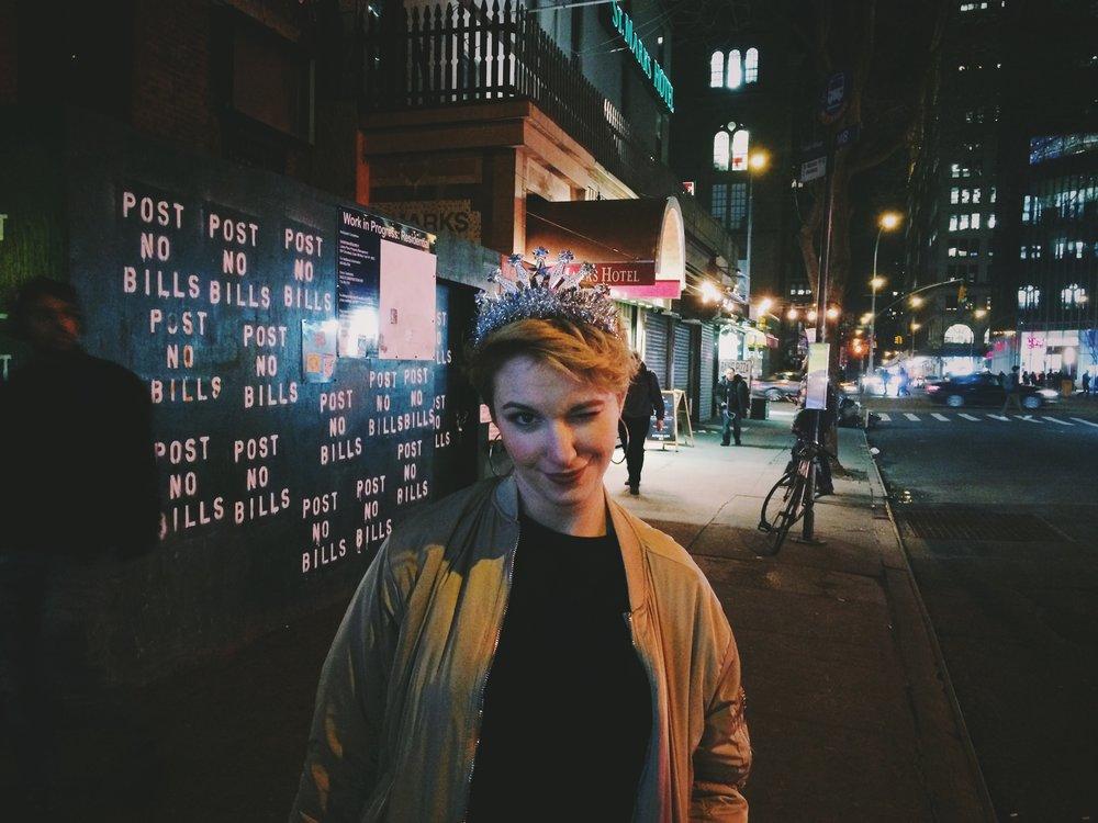 """""""Rachel, NYC."""""""