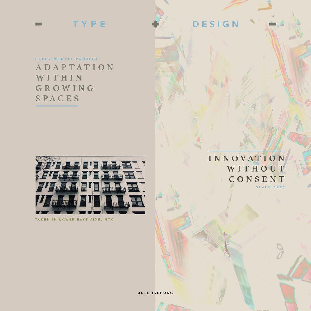 """""""Type & Design #1"""""""