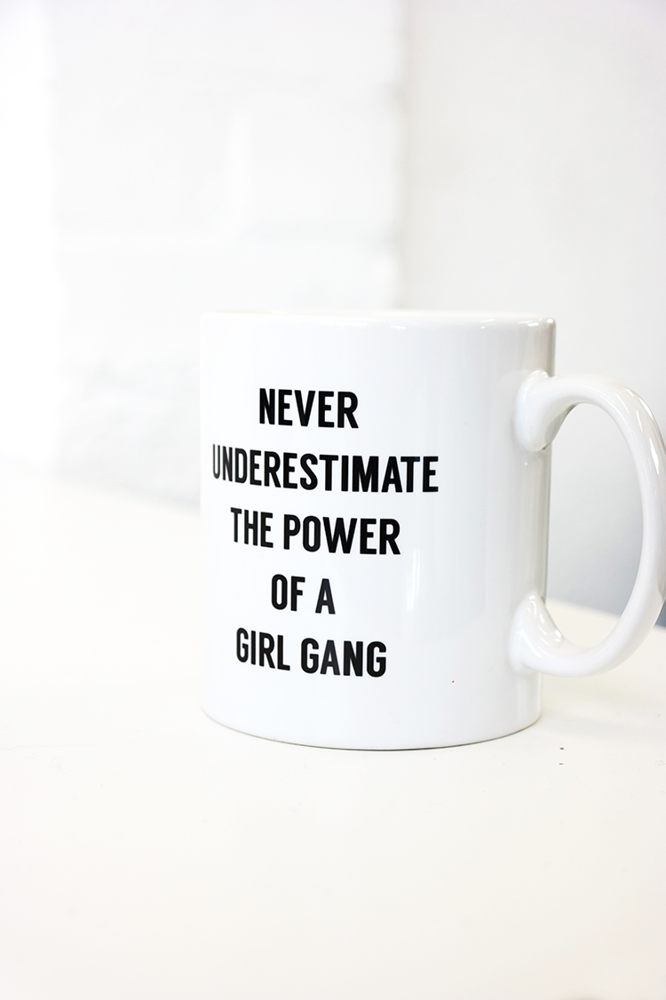 join a local girl gang and drink tea