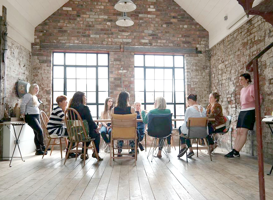 wwcweekendbristol creative business retreat event at the forge