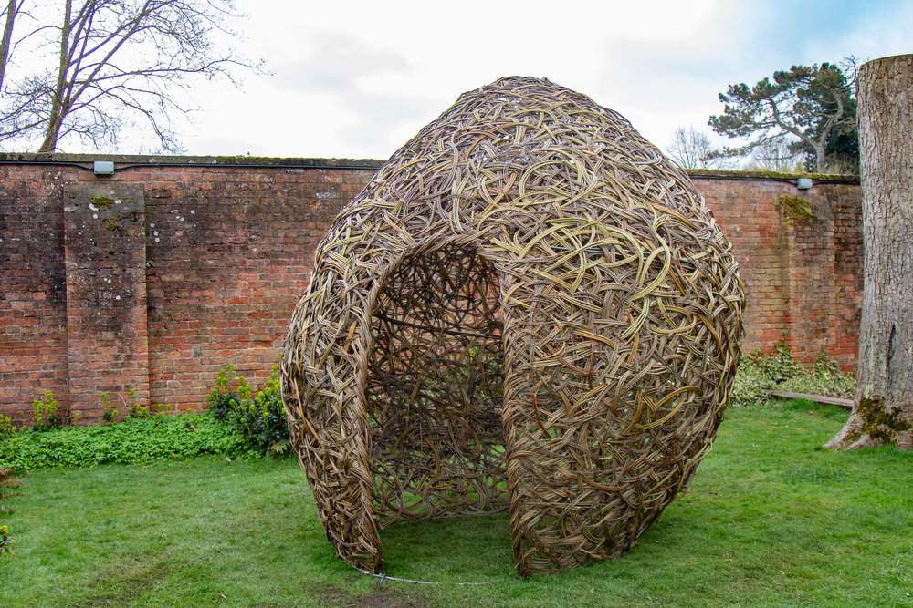 Ellen Mulcrone woven pear nest installation