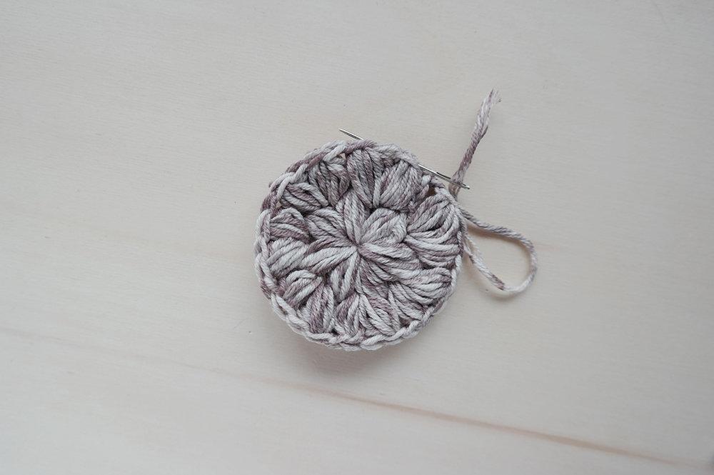 crochet eco scrubby diy