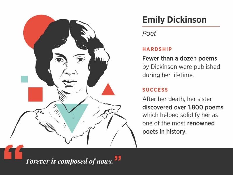 Emily Dickinson career success