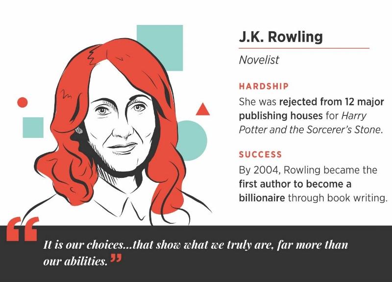 JK Rowling career success