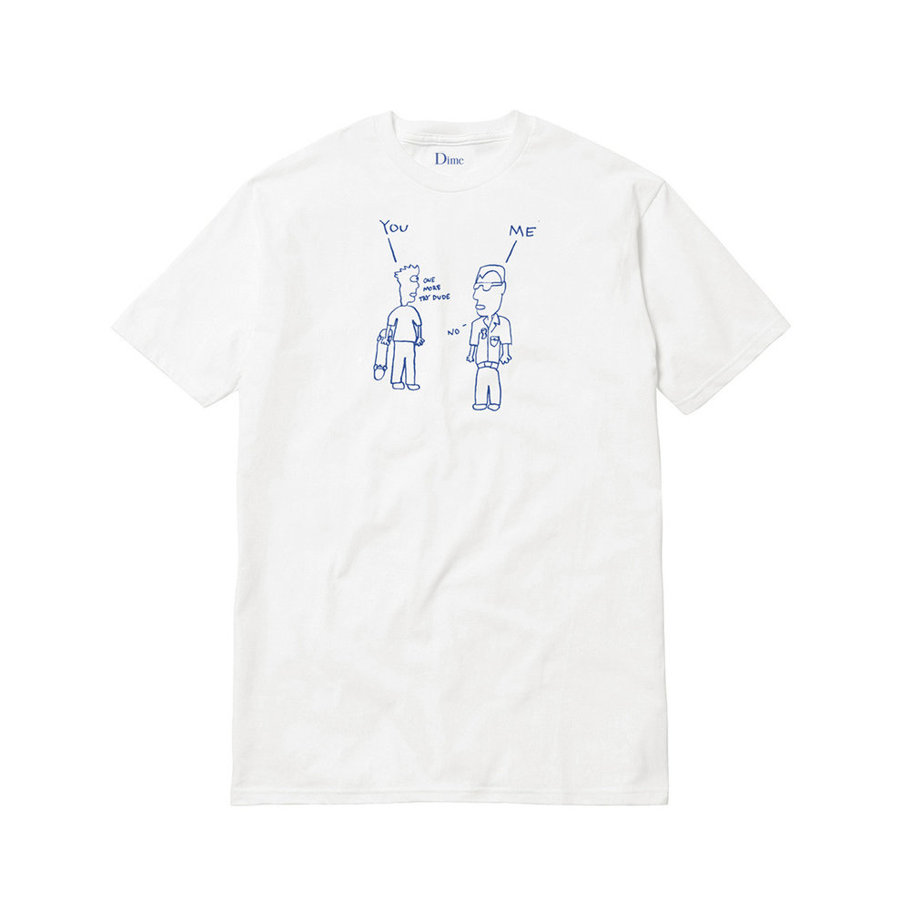 Dime World Peace T-Shirt White