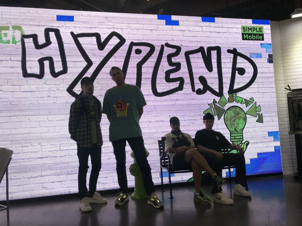 WE WENT TO COMPLEXCON