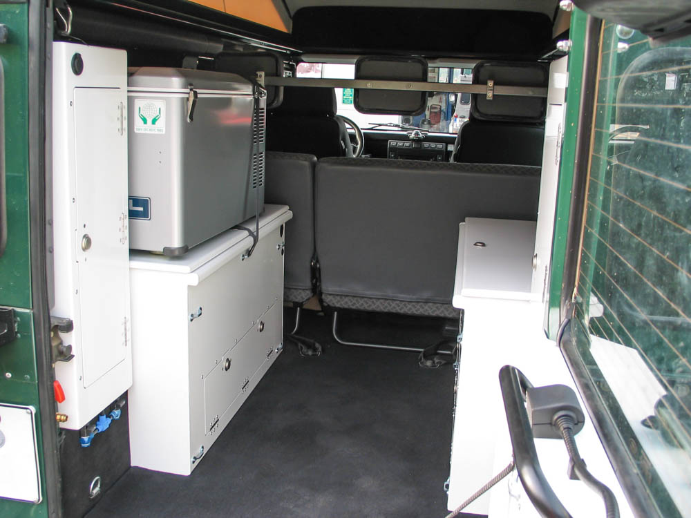 4-Personen Boxenvarianten Standard Td4/Td5