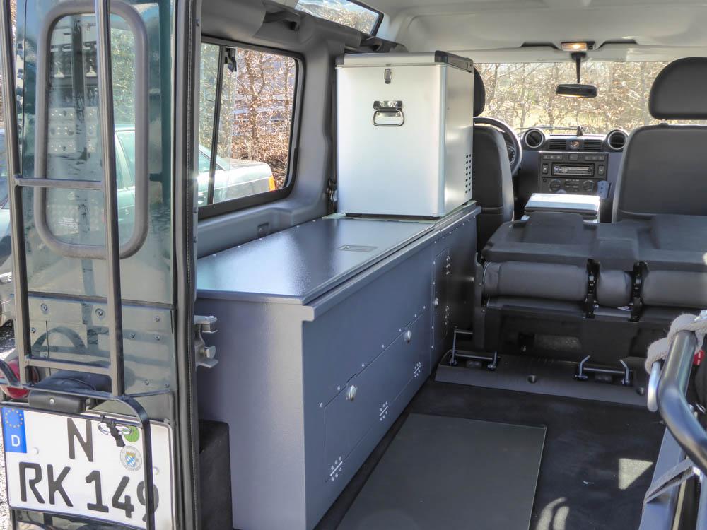 4-Personen Boxenvariante Komfort Flex Td4 / Td5