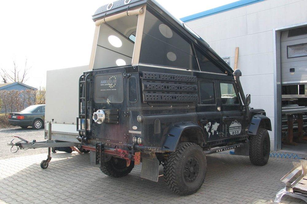 Ex-Tec Defender schwarz Hard-Tent schwarz glanz